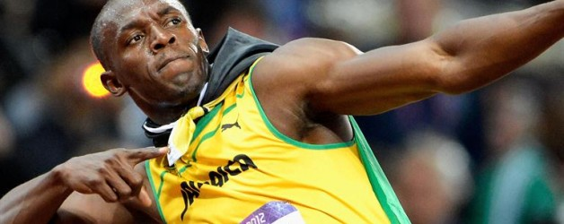Usain Bolt knocked over by segway after win (Video)