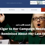 Will it be No Cigar for Clinton, Literally?