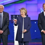 Clinton gets Berned at First Democratic Debate