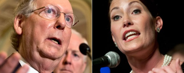 Ky Race: McConnell holds 4 point lead on Democrat Opponent Grimes