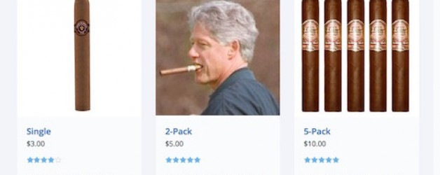 Send Clinton Cigars Seeks New Veteran's Charity