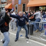 Baltimore coming undone, Freddie Gray protests turn violent